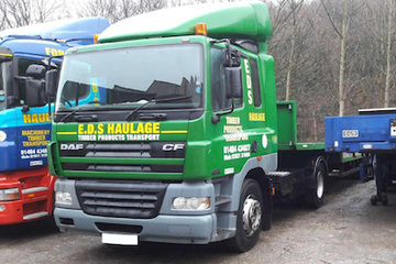 EDS Haulage - 38t artic 20t payload.